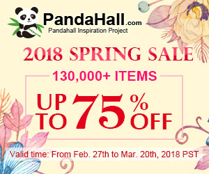 Up to 75% OFF on 2018 SPRING SALE 130,000+ Items. Ends on Mar. 20th, 2018 PST