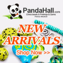 New Arrival on jewelry beads, jewelry findings, ect. @PandaHall