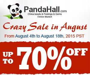 PandaHall: Up to 70% OFF...