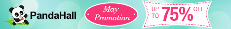 Up to 75% Off on May Promotion, valid from May 3rd to May 17th, 2016 PST.