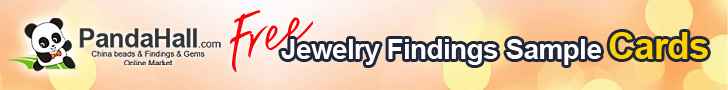 Free Jewelry Findings Sample Cards, 3pcs/set @PandaHall