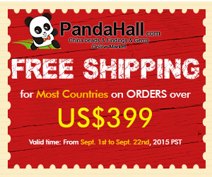 Free Shipping for Most Countries on ORDERS over $399, valid from Sept. 1st to Sept. 22nd, 2015 PST.