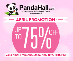 Up to 75% OFF on April Promotion, valid till Apr. 19th, 2016 PST