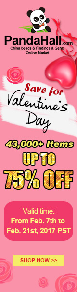 Up to 75% OFF on Save on Valentine's Day. Ends on Feb. 21st, 2017 PST