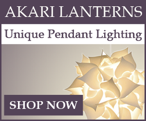 Akari Lanterns - Unique Pendant Lighting