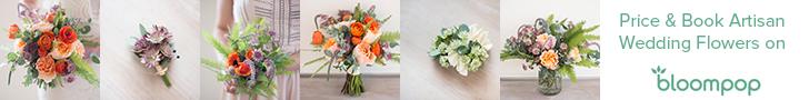 Book artisan wedding flowers online.