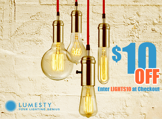 Save 10 dollars with coupon code LIGHTS10