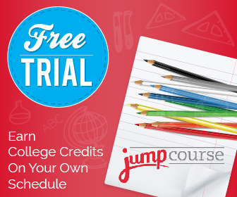 Get a risk-free JumpCourse trial - online CLEP courses