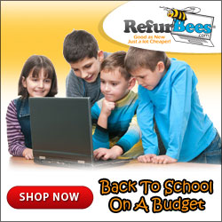 Back to school on a budget at RefurBees.com