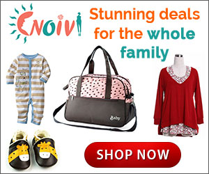Grab stunning deals for moms and kids at Noivi.com!