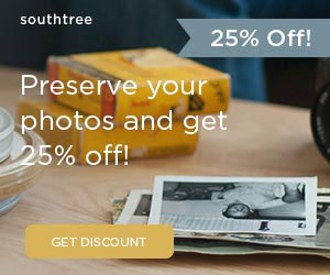25% off any order at Southtree...