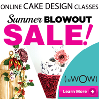 Cake Design, Cake decorating, online cake decorating classes