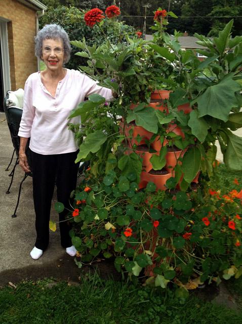 Garden Tower 2 50-Plant Composting Container Garden