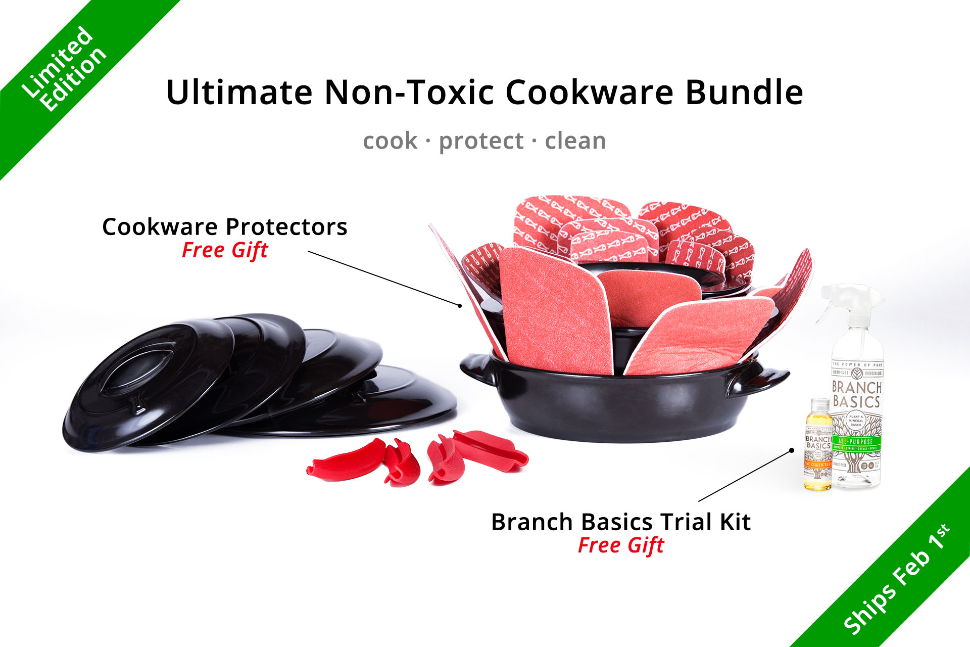 Ultimate Non-Toxic Cookware Bundle