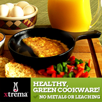 Healthy, Green Cookware: No Metals or Leaching