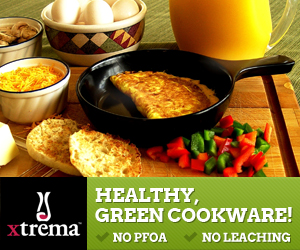 Healthy, Green Cookware: No PFOA, No Leaching