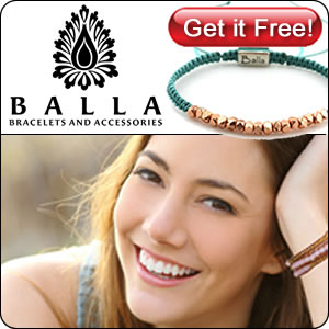 BallaBracelets.com Freebie Sign Up!
