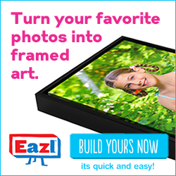 Turn Your Favorite Photos into Framed Art
