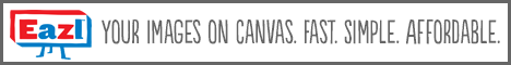 Your Images on Canvas - Fast. Easy. Affordable.