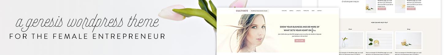 Cultivate Theme