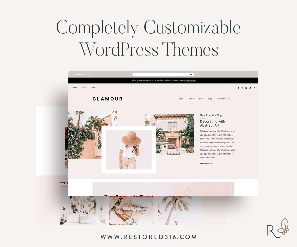 Glamour Theme by Restored 316
