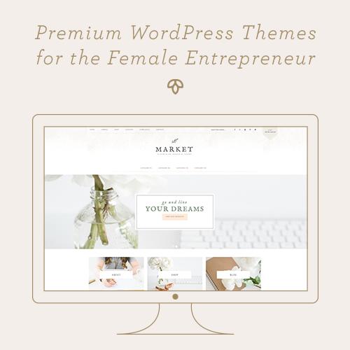 Restored 316 Feminine WordPress Theme Design using the Genesis Framework