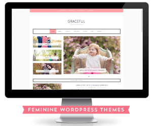 Feminine WordPress Theme Design using the Genesis Framework by Restored 316
