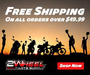Free Shipping on all orders over $49.99 at 2WheelPartsSupply.com! Shop now!