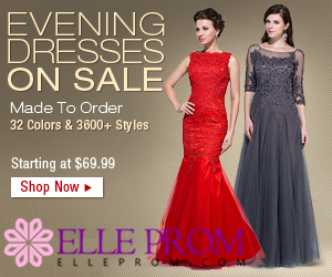 Elle Prom Dress in Big Sale