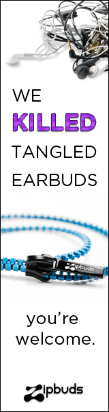 Sick of Tangled Earbuds? Zipbuds has you covered.