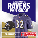 Shop for officially licensed Baltimore Ravens Fan Gear, accessories and authentic collectibles