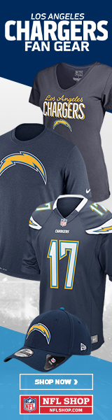 Shop for official San Diego Chargers fan gear and authentic collectibles at NFLShop.com