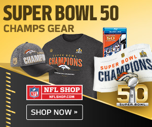 Shop for Denver Broncos Super Bowl 50 Champions Gear and Collectibles at NFLShop.com