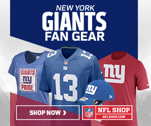 Shop for official New York Giants fan gear and authentic collectibles at NFLShop.com