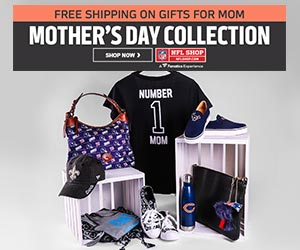 e87320cddb07a Shop the Mothers Day Collection at the NFL Shop. Shop Now