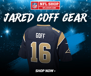 Shop for Jared Goff LA Rams Fan Gear and Collectibles at NFLShop.com