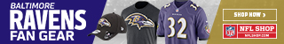 Shop for officially licensed Baltimore Ravens Fan Gear, accessories and authentic collectibles at Shop.ClevelandBrowns.com