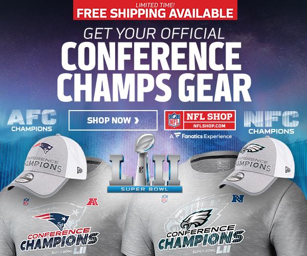 Shop for Conference Champs Gear at NFLShop.com