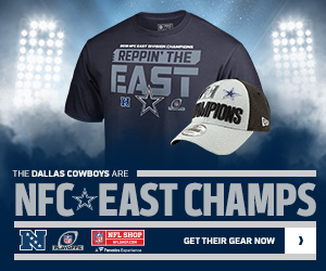 Dallas Cowboys 2018 NFC East Champs Gear