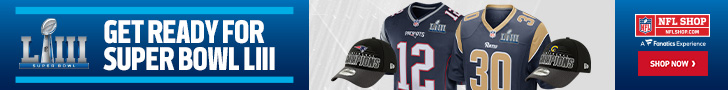 Shop for Super Bowl LIII Gear at NFL Shop
