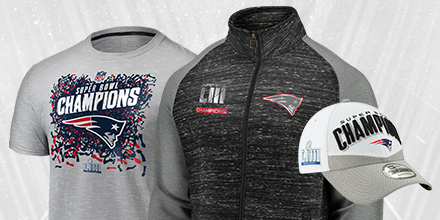 Shop for New England Patiots Super Bowl Champs Gear at NFL Shop