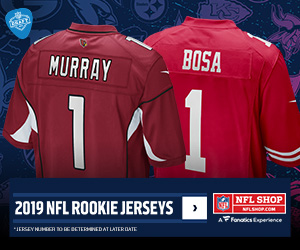 2019 NFL Rookie Jerseys