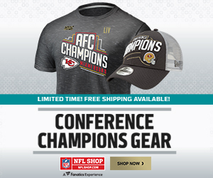 NFL Conference Champs Gear