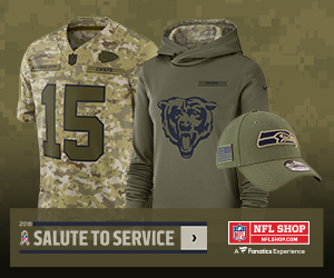 Honor our Heroes in NFL Salute to Service Gear from Nike and New Era