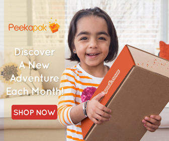 Discover Cool Craft Ideas Each Month with Peekapak!