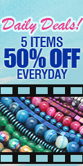 Daily Deals! 5 Items 50% OFF Everyday