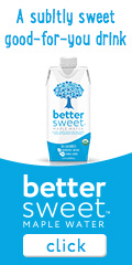 BetterSweet Drinks 100% Organic Maple Water