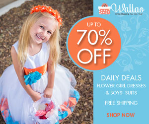 Flower Girl Dress at Wallao