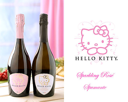 HELLO KITTY SPUMANTE DUO WINE