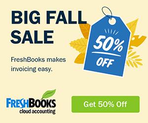 FreshBooks Black Friday Discounts